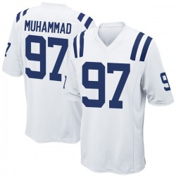 Nike Al-Quadin Muhammad Indianapolis Colts Men's Game White Jersey