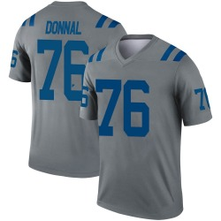 Nike Andrew Donnal Indianapolis Colts Men's Legend Gray Inverted Jersey