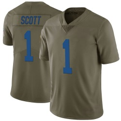 Nike Artavis Scott Indianapolis Colts Youth Limited Green 2017 Salute to Service Jersey