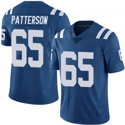 Nike Javon Patterson Indianapolis Colts Youth Limited Royal Team Color Vapor Untouchable Jersey