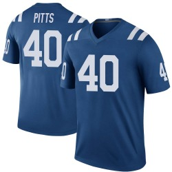 Nike Lafayette Pitts Indianapolis Colts Men's Legend Royal Color Rush Jersey