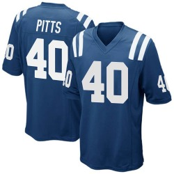 Nike Lafayette Pitts Indianapolis Colts Youth Game Royal Blue Team Color Jersey