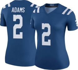 Nike Rodney Adams Indianapolis Colts Women's Legend Royal Color Rush Jersey