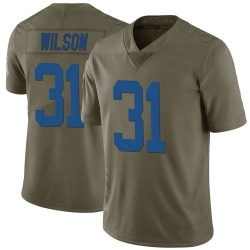 Nike Tavon Wilson Indianapolis Colts Youth Limited Green 2017 Salute to Service Jersey