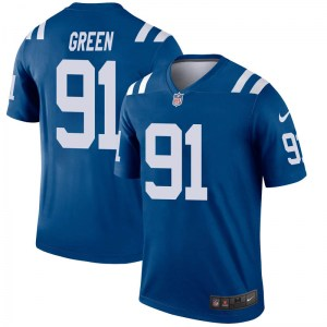 Nike Gerri Green Indianapolis Colts Men's Legend Green Royal Jersey
