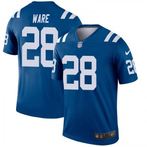 Nike Aca'Cedric Ware Indianapolis Colts Men's Legend Royal Jersey