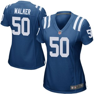 Nike Anthony Walker Indianapolis Colts Women's Game Royal Blue Team Color Jersey