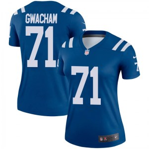 Nike Obum Gwacham Indianapolis Colts Women's Legend Royal Jersey