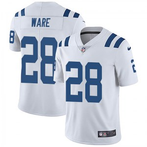 Nike Aca'Cedric Ware Indianapolis Colts Youth Limited White Vapor Untouchable Jersey